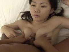 Young Ayu loves the cock