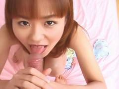 Sexy Ai Nanase pussy eaten out and hot blowjob!